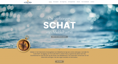 Project website gelanceerd -