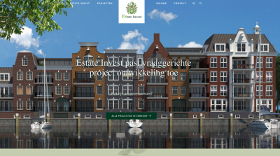 De website van Estate Invest is vernieuwd -
